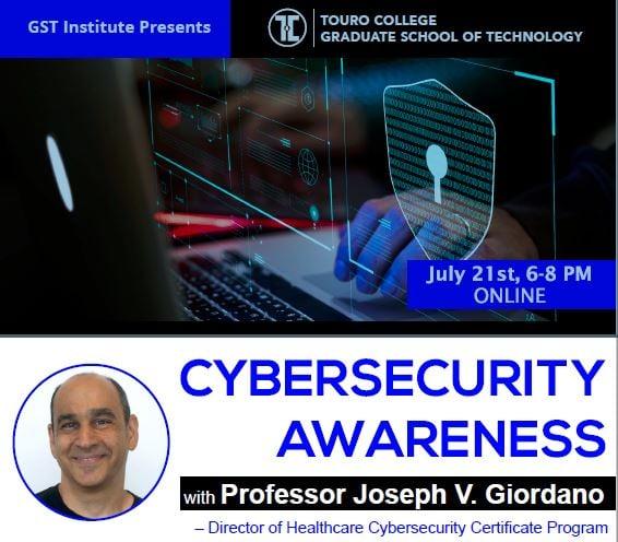 Cybersecurity Workshop July 21 2020